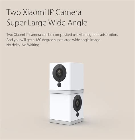 Jual Xiaomi Cctv Xiao Fang Square Small Smart Ip 1080p xiaomi xiao fang 1080p hd ip wifi cctv vision version lazada malaysia