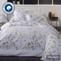parure de lit en percale de coton parure de lit percale pur coton peign 233 200x200 cm plumes