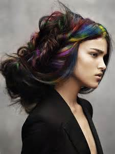 different color hairstyles cool ways to dye your hair