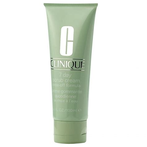 Clinique 7 Day Scrub clinique 7 day scrub rinse formula peeling krem oczyszczaj艱cy 100ml 100ml