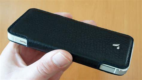 vaja pelle iphone se   cover case review genuine