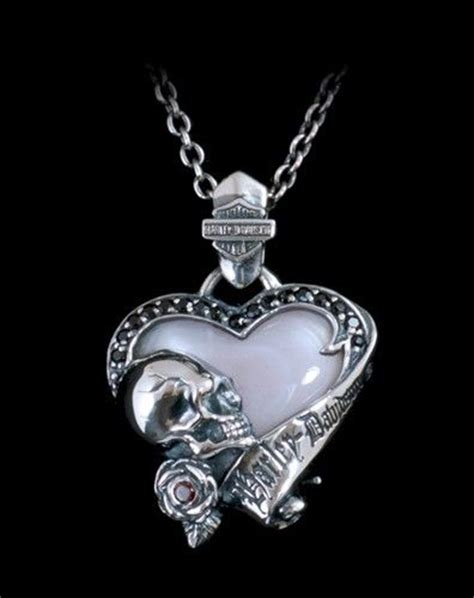 pendants pendant necklace and harley davidson