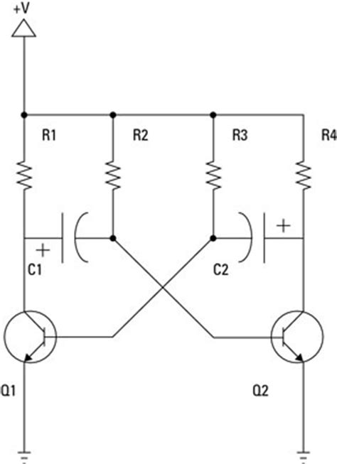 npn transistor oscillator electronics components oscillator circuits dummies