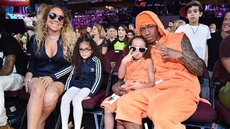 mariah carey and nick cannon match their twins at kids