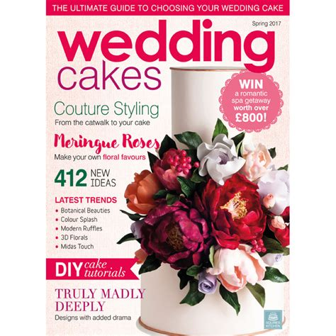 Wedding Cakes Magazine by Wedding Cakes Magazine 2017 Squires Kitchen Shop