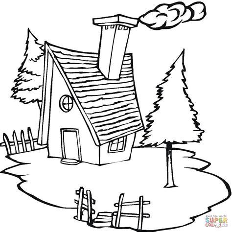 pueblo house coloring page ausmalbild h 252 tte im dorf ausmalbilder kostenlos zum