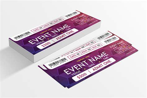 Fancy Ticket Event Design Designs Net Fancy Ticket Template