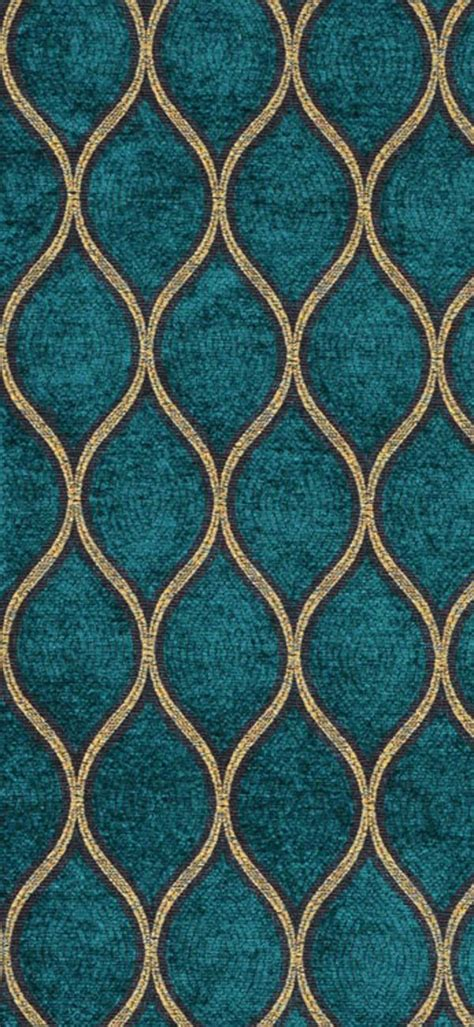 gold pattern curtain fabric iman malta peacock fabric teal gold fall winter
