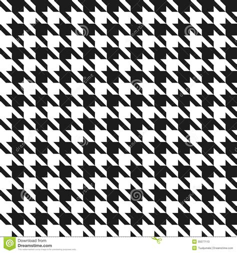black and white houndstooth pattern seamless houndstooth pattern stock photos image 35077113