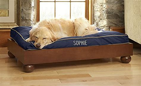 huge dog beds orvis studio dog bed cushion large dogs 70 100 lbs navy large shopswell