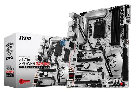 Msi Lga1151 Z270 Xpower Gaming Titanium Kabylake Mobo Best Price Msi S Flagship Z170a Xpower Gaming Titanium Edition