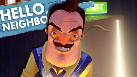 hello neighbor fan games all new rooms game breaking glitch ending hello