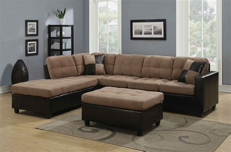 2 sectional sofa for sale coaster 505675 harlow mallory two tone sectional buy