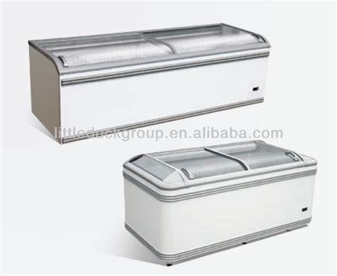 glass door chest freezer sliding glass door chest freezer buy sliding glass door