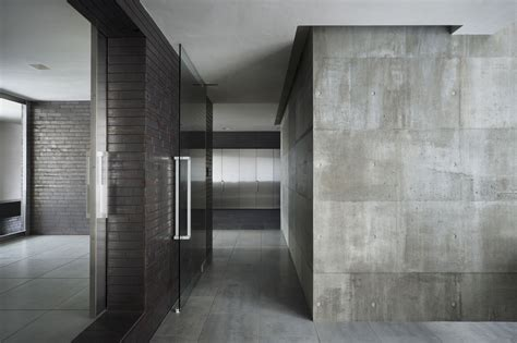 interior concrete walls house of silence by form kouichi kimura architects