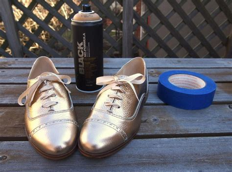how to spray paint sneakers spray painted oxfords what i do