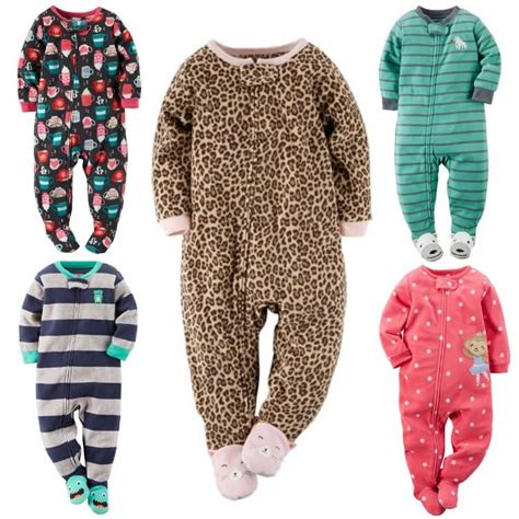 Carters Footed Sleepers by S Footed Baby Pajamas Only 4 68