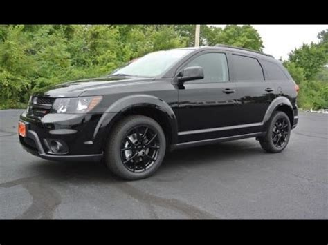 2017 Dodge Journey SXT Blacktop V6 For Sale Dayton Troy