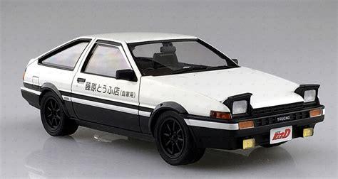 Aoshima Toyota Ae86 Sprinter Trueno Project D With Engine 1 24 1 24 aoshima initial d 05 toyota ae86 sprinter trueno