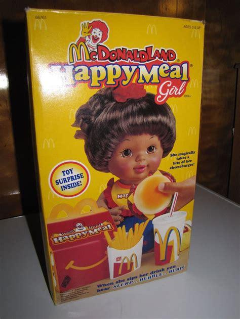 donald american doll nib mcdonald land happy meal american htf
