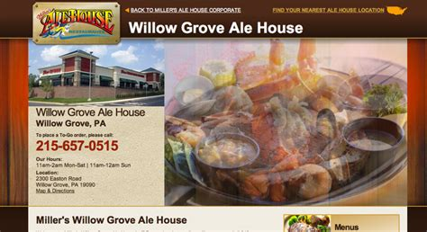 miller s ale house willow grove pa millers ale house willow grove