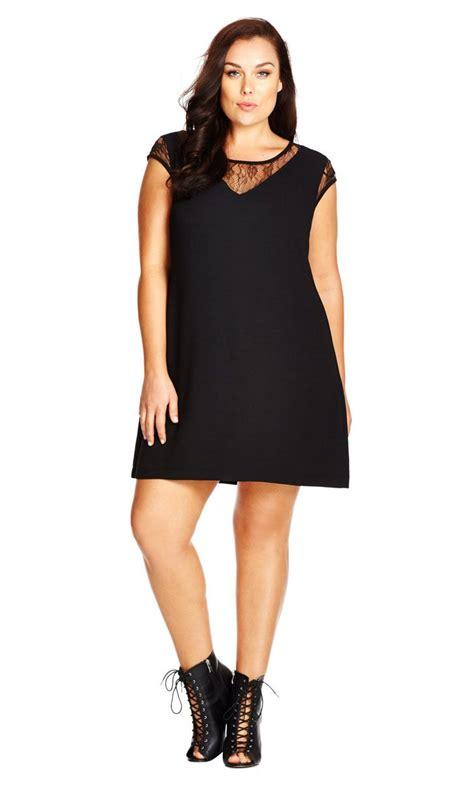 Chik Dress city chic lace shift dress s plus size fashion