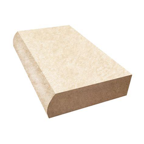 bullnose countertop edge bullnose edge formica countertop trim almond papyrus