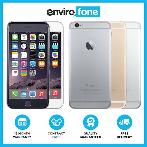 Apple Iphone 6 64 Gb Smartphone apple iphone 6 16gb 64gb 128gb unlocked sim free