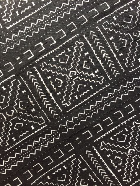 tribal pattern upholstery sale authentic handmade black and white african
