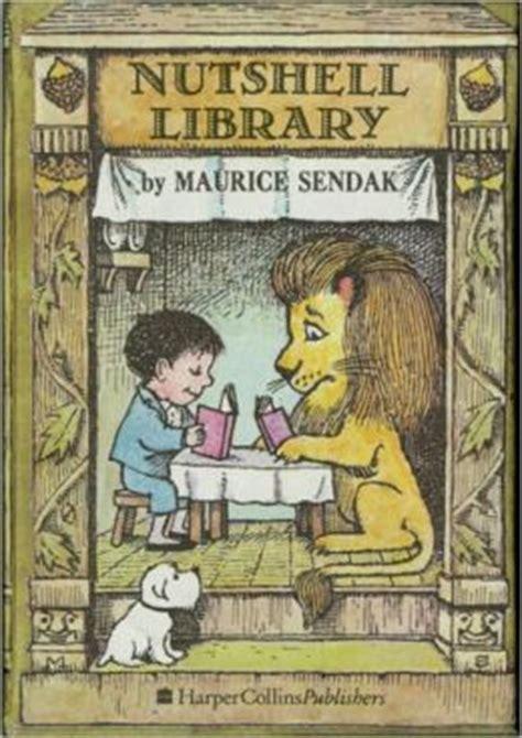 he books nutshell library by maurice sendak 9780060255008