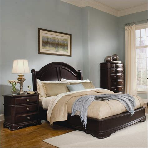 dark cherry bedroom furniture homelegance grandover panel bed 3 piece bedroom set in