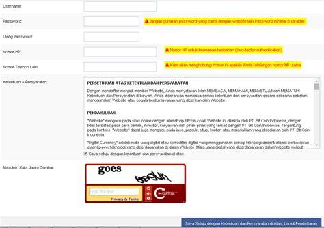 cara membuat wallet di bitcoin co id cara mudah daftar akun bitcoin indonesia dan membuat