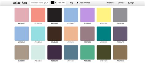 hex color palette color palettes 13 useful tools that will help you create