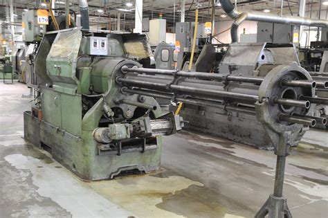 Acme Gridley Machine Acme Gridley Model Ra 6 1 1 4 Quot 6 Spindle Automatic
