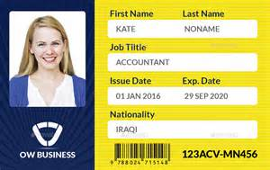 photo id cards for business multipurpose business id card template vol 2 by owpictures