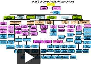 organogram template powerpoint ppt sasseta corporate organogram powerpoint presentation