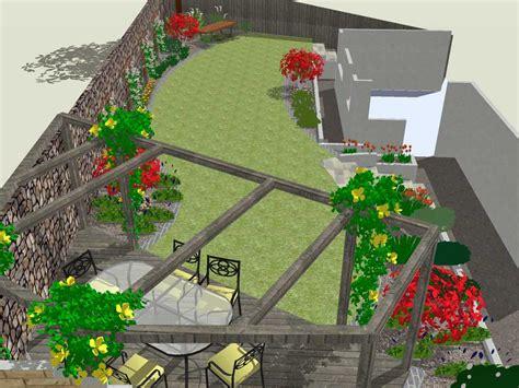 Wide Garden Design Autumn Rogerstone Gardens Cardiff Garden Design Wales