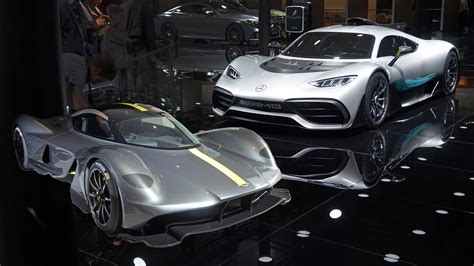mercedes amg project one or aston martin valkyrie youtube