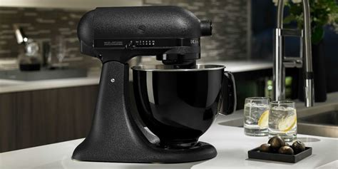 kitchenaid black tie kitchenaid artisan black tie mixer 187 gadget flow
