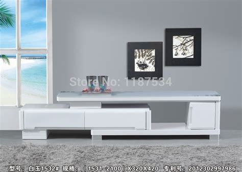 living room tv table 1532 modern living room furniture white wood glass stretch