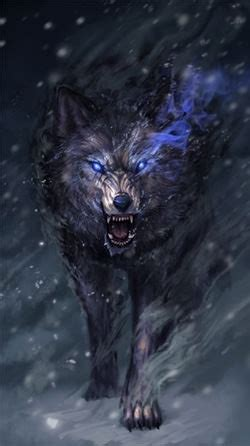 android wallpaper wolf spirit