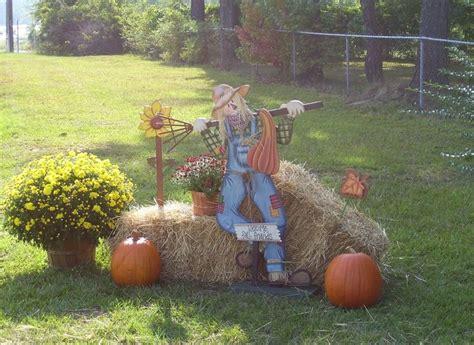 scarecrow outdoor decor pinterest