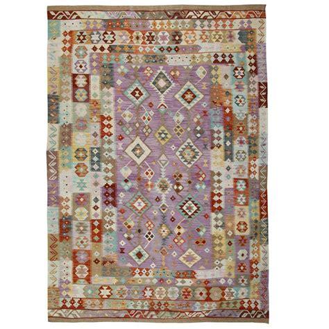 afghan kilim rugs light purple rug for sale at 1stdibs