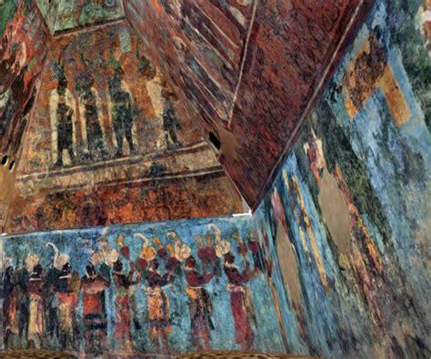 imagenes de murales mayas bonak murales