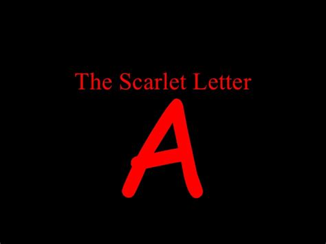one theme of the scarlet letter the scarlet letter