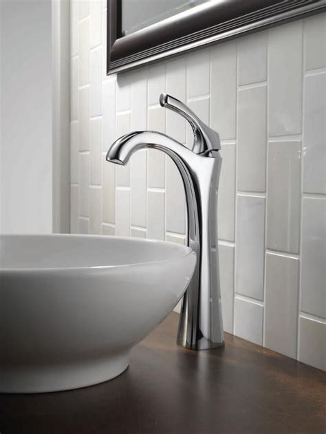 How To Put Up Backsplash In Bathroom by Vertical Subway Tile Shakes Traditional Up Subway Tile