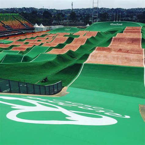 Bmx Rack by Olympic Bmx Track Green Asphalt Effect Sugar Cayne