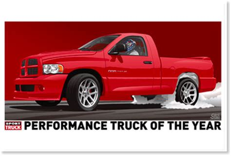truck of the year dodge srt10