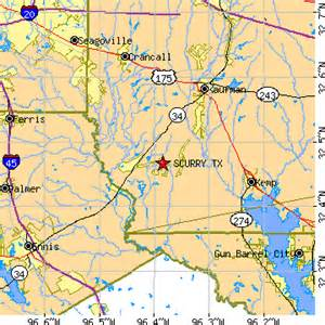 scurry map scurry tx population data races housing economy