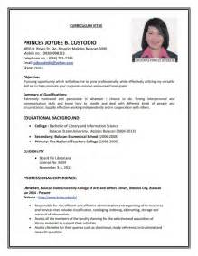 make a resume for job samples of resumes